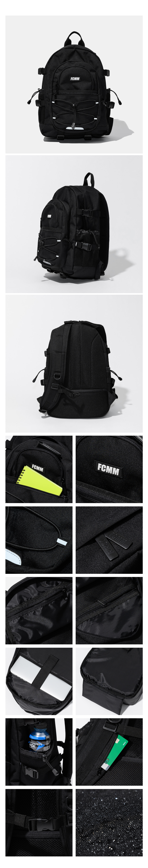 에프씨엠엠(FCMM) 유틸리티 글램핑 백팩 - 블랙